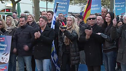 Germany: Protesters disrupt AfD rally in Schweinfurt