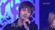 Dbsk comeback Tri-angle + Miduhyo (inkigayo) 20041010