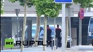 Останките на 30 пътници от самолетната катастрофа на Джърмануингс пристигнаха в Ипания