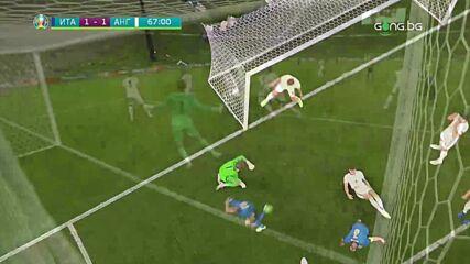 Италия - Англия 4:2 /репортаж/