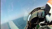Чувството да летиш ниско с F-18