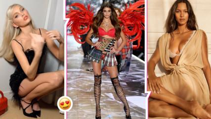 Ето каква диета спазват моделите на Victoria's Secret, за да изглеждат така перфектно!