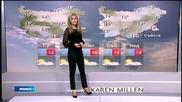 Прогноза за времето (05.11.2014 - обедна)