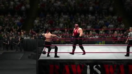 Vader hits his finisher in Wwe '13 (official)