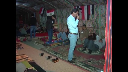 Iraq: Anti-govt tent protest continues outside Baghdad's Green Zone