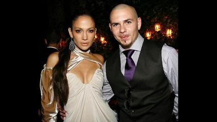 Jennifer Lopez and pitbull-on the floor