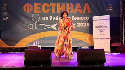 """Фестивал на рибата и виното 2020 в Бургас. Йорданка Христова - """"Като испанка"""""""
