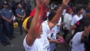 Philippines: Hundreds protest court's decision to grant late Pres. Marcos a 'hero's' burial