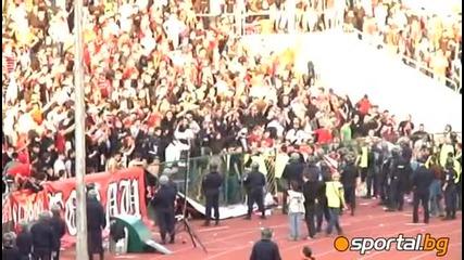 Край на мача ! цска - Левски 0 - 2 Hq