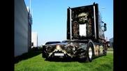 Scania T580 V8 J.davis Ierland Special paint Interior and Extrior (hd)