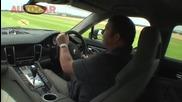 Steve Sutcliffe drives the Porsche Panamera by autocar.co.uk