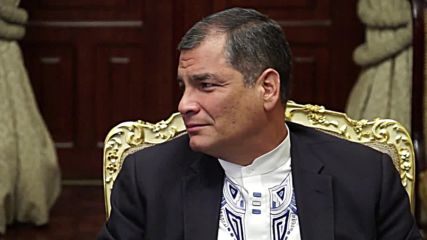 Ecuador: Chinese FM Wang Yi meets Ecuadorian President Correa