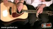 Необикновен начин за игра на гитара!!!