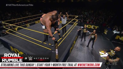 Roderick Strong vs. Keith Lee – NXT North American Championship Match: WWE NXT, Jan. 22, 2020