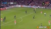 Манчестър Юнайтед 2:1 Марсилия 15.03.2011