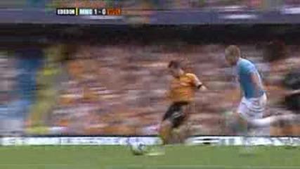 Manchester City vs Wolves 1:0