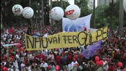 Brazil: Thousands rally for Rousseff on streets of Sao Paulo
