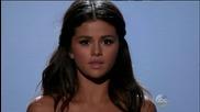 Живо изпълнение! Selena Gomez - The Heart Wants What It Wants - # Amas 2014