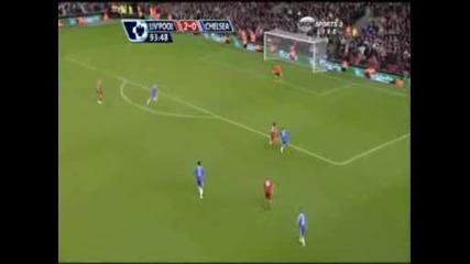 Ливърпул - Челси 2:0 Торес Втори Гол