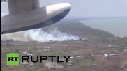Indonesia: Russian EMERCOM planes battling Indonesian wildfires since October