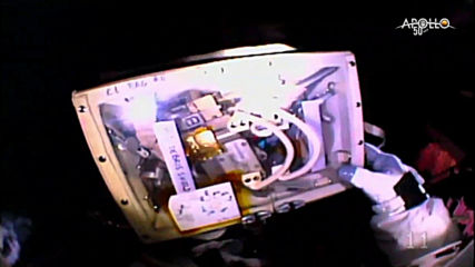 International Space Station: Astronauts spacewalk to repair cosmic ray detector