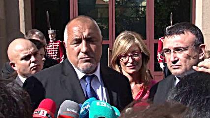 Борисов: Борислав Михайлов незабавно да си подаде оставката