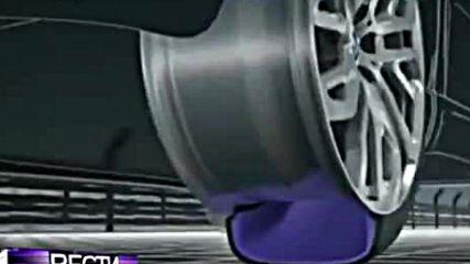 Жител на Екатеринбург е изобретил нов вид джанти, които позволяват придвижването при спукана гума!