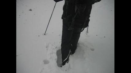 03.02.2012г.със снегоходки в дълбок сняг