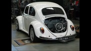 1963 Beetle with 2332cc engine on the dyno
