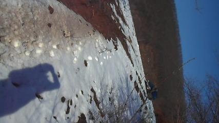 Стара речка - субару Аутбек - връщане от ски