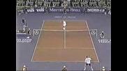 ATP World Championship 1999 Агаси - Сампрас - 1 сет