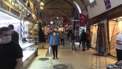 Turkey: Istanbul's iconic Grand Bazaar reopens as COVID restrictions  further eased