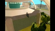 Crazy stunts on Gta Sa