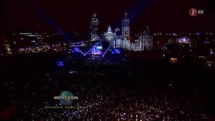 Justin Bieber - на живо в Mexico - част първа.