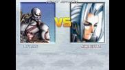 Kratos Vs Sephiroth