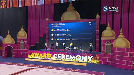 Дина Аверина спечели златото на бухалки на Световното в Баку