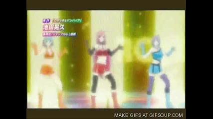 Anime girls- On the floor
