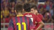 Неймар с първи гол за Барселона