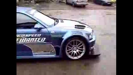BMW M3 GTR - Need For Speed MW