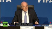 Switzerland: With my resignation I stopped play - FIFA's Blatter