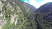 Красивата Самоковска област заснета от небето