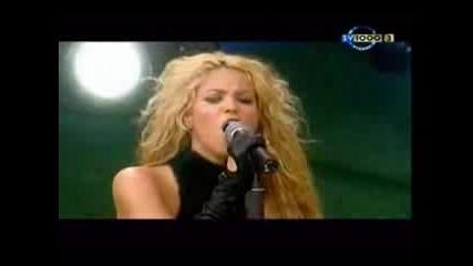 Shakira - Objection Live