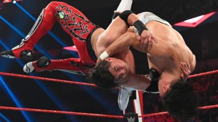 Humberto Carrillo vs. Angel Garza: Raw, Feb. 24, 2020