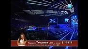 X Factor Bulgaria 05.12.2013 - Theodora Tsoncheva - You've Got the Love