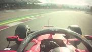 Ф1 - Шарл Льоклер прави тестова обиколка на пистата Каталуния