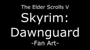Skyrim Daedric Armor Fan Art by ign_games
