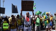 Brazil: Thousands flood Rio in anti-Rousseff protest