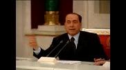 Берлускони Хвали Тена На Обама