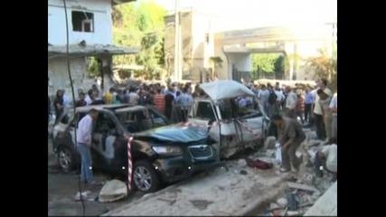 Нов атентат с кола бомба в предградие на Дамаск, има ранени