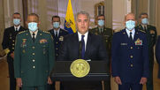 Colombia: President Duque gives message of condolence after Def Min dies of COVID